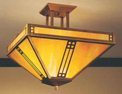 Arroy Craftsman Ceiling Semi flush